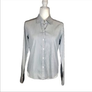4/$25 Liz Claiborne Stretch Button Down Top-S